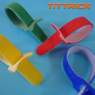 Tittrick Magic Easy-to-Use Cable Ties Reusable Hook & Look
