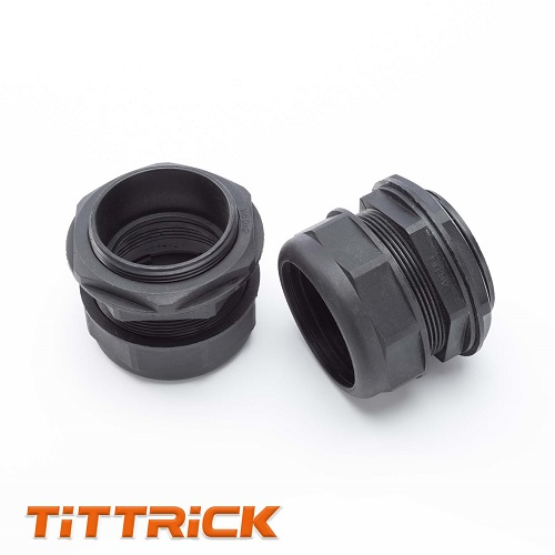 Tittrick Flexible Conduit Adaptor Corrugated Tube Connector