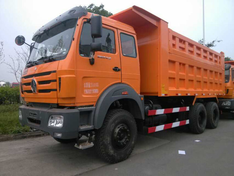 Fast Delivery Tipper Truck China 30ton Beiben 6x4 10 Wheel Dump Truck