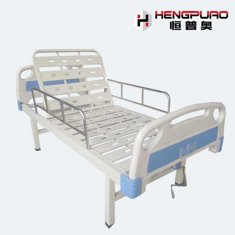 Medical Supplies Single Crank Discount Adjustable Modern Hospital Bed for Sale Cheap