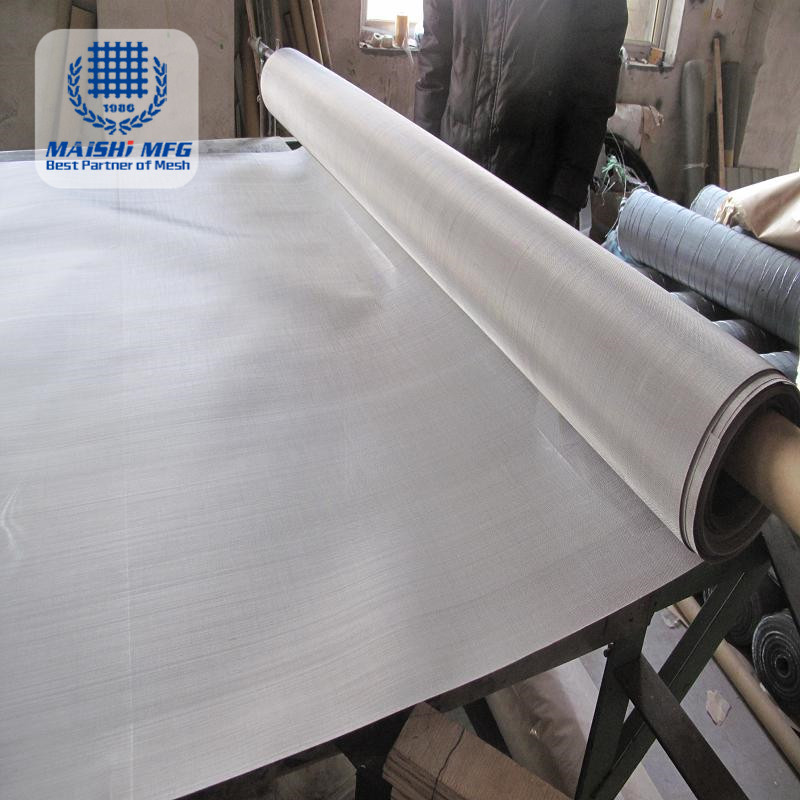 High Grade Micron Stainless Steel Woven Wire Mesh