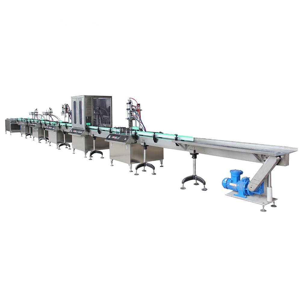 Full automatic Aerosol filling machine line