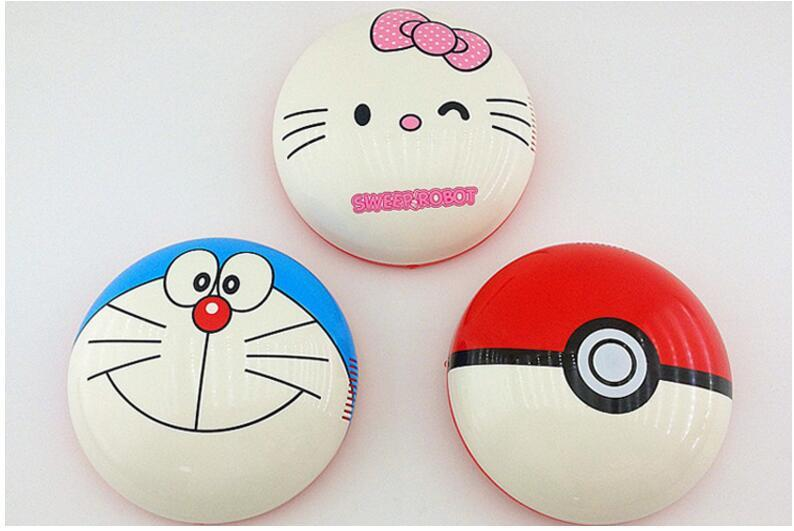 USB Household Cleaning Cartoon Sweeper Robot Vacuum Cleaner AUTO CLEANER ROBOT Bikachu Pocket Hello Kitty Doraemon Sweep