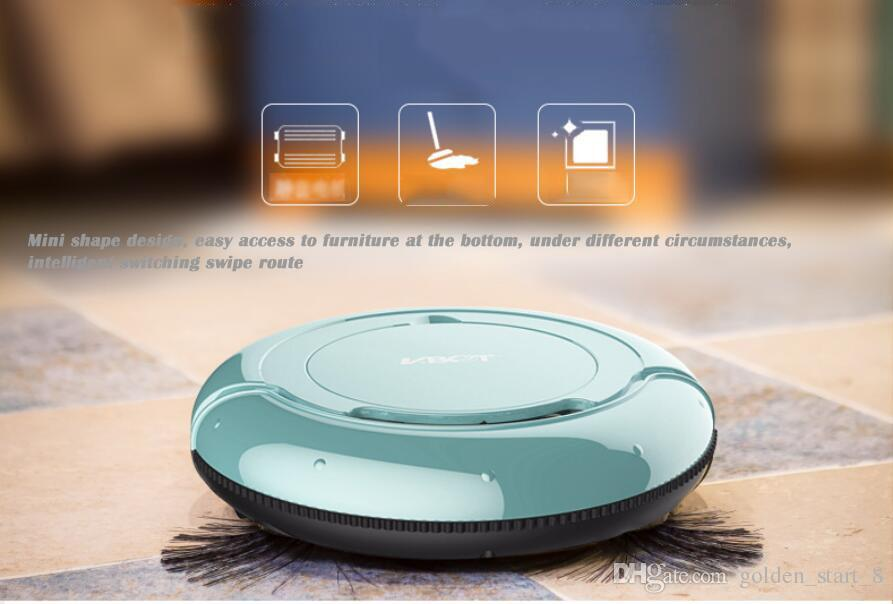Smart Pathfinder Vacuum Cleaner Automatic Intelligent Sweeper Auto Dust Sweeping Machine Cleaning Robot Household One Ma