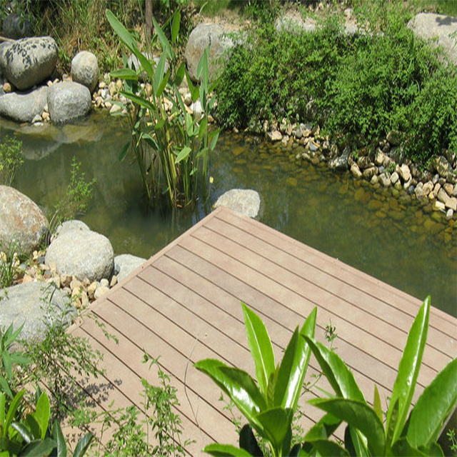Waterproof Outdoor Flooring WPC Used Composite Decking