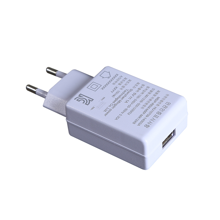 KC Certified 5V1A 5V2A5V3A Home Wall USB Port Chargers AC Adapter with Korea Plug