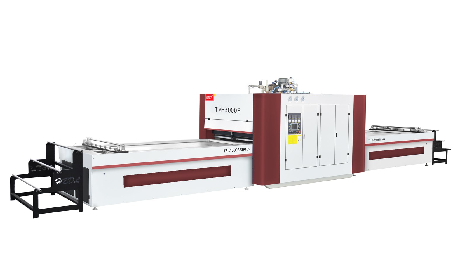 TM3000F Vacuum Membrane Press with Automatic Pin Support System