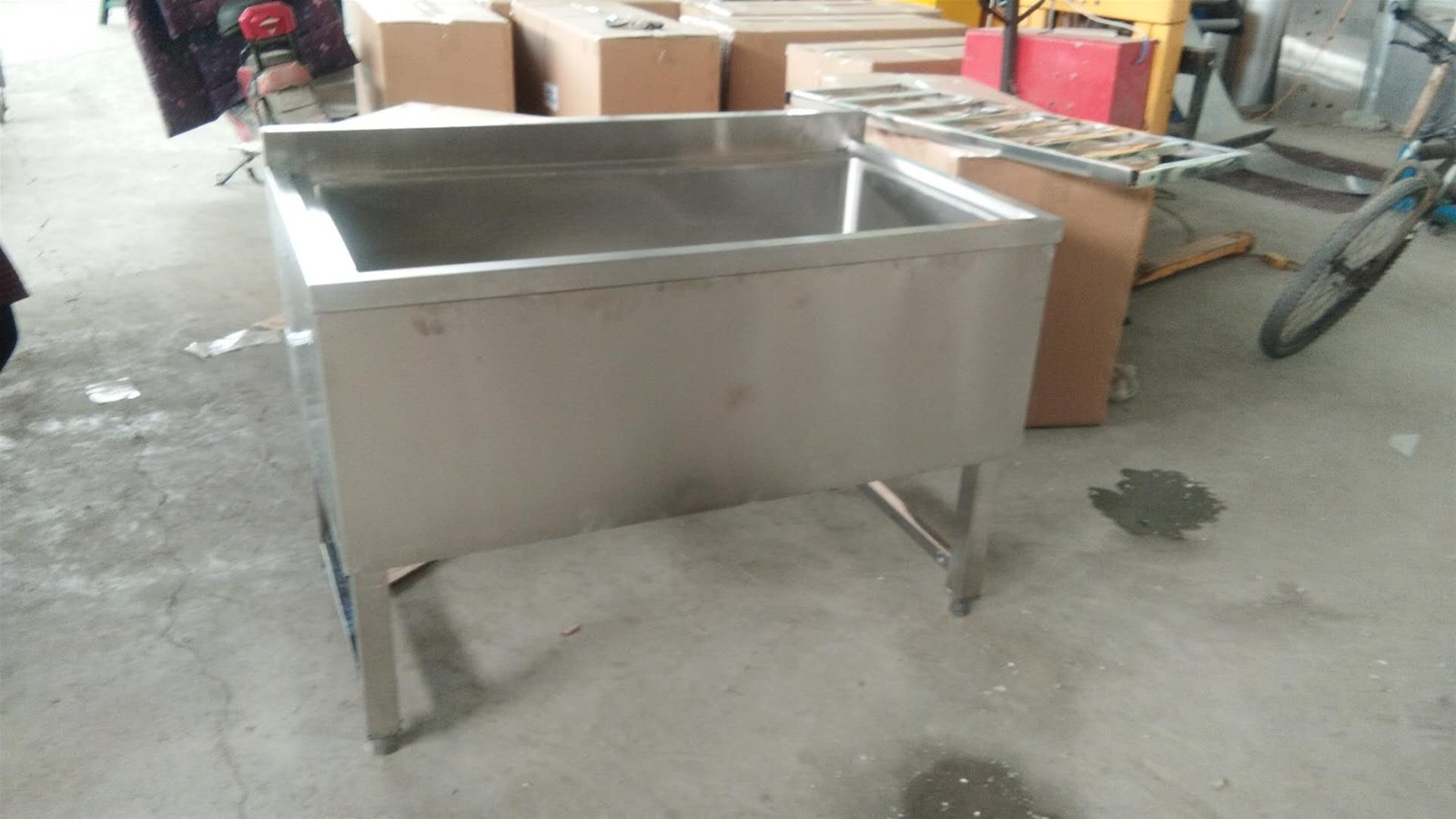 Supply Stainless Steel Deep Sink