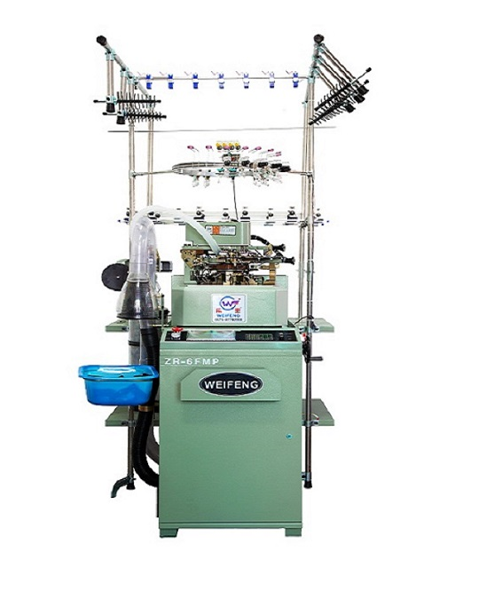 Zhuji WF-6F-B Terry & Plain Sock Knitting Machine