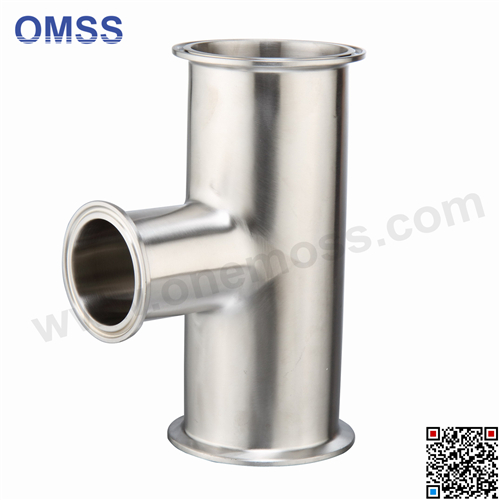 Stainless Steel Hygienic High Precision Sanitary Pipe Tube Fitting Welded/Clamped Tee