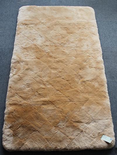 Genuine Sheepskin Bed Carpet Lambskin Bed Cushion