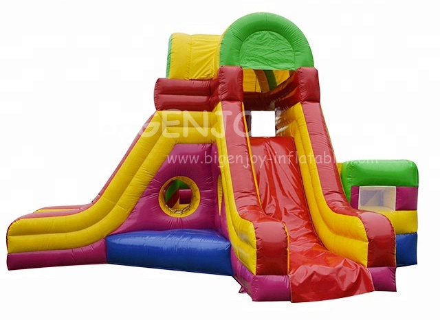 Outdoor Spots Game Funny Inflatable Toys Inflatable Vagina Slide