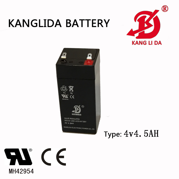 Player, Electric Scale 4v4.5ah Kanglida Lead Acid Battery