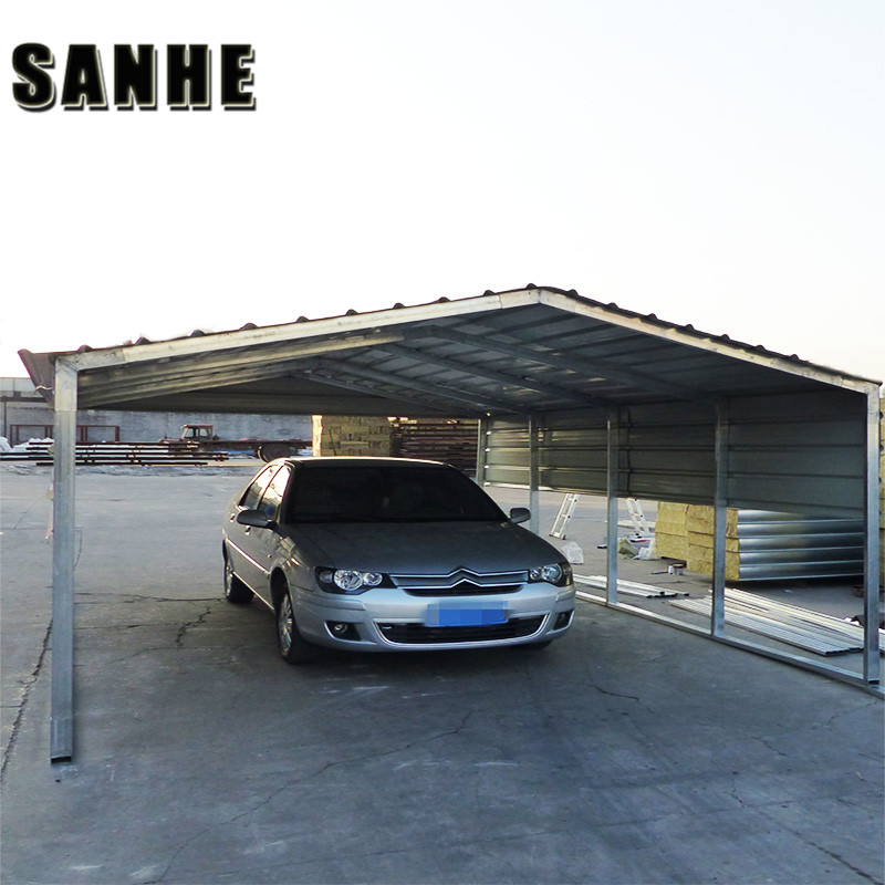 Regular Style Portable Metal Carports & Carport with Roofing Sheet for One/Two/Three Cars