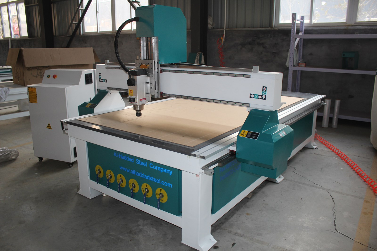 CNC Woodworking Atc 3.5/6 Kw Spindle Atc