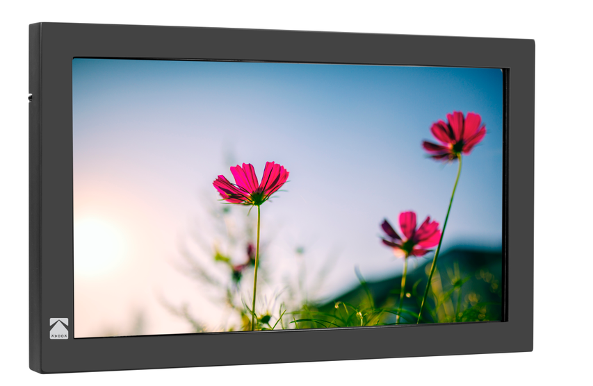 KODAK 23.8 Inch Digital WiFi Photo Frame, Digital Picture Frame Cloud Frame with IPS Touch Screen & 10GB Cloud Storage