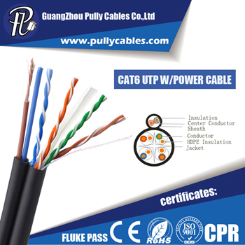 CAT6 UTP with POWER CABLE for CAMERA