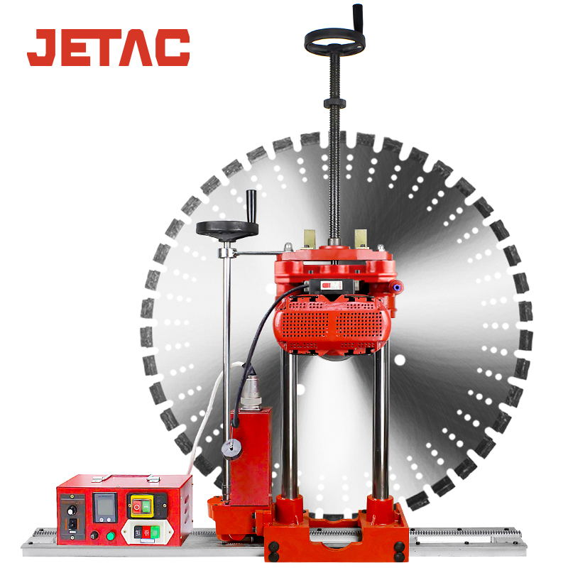 Adjustable Semi-Automatic Wall Cutter Machine for Reinforced Concrete