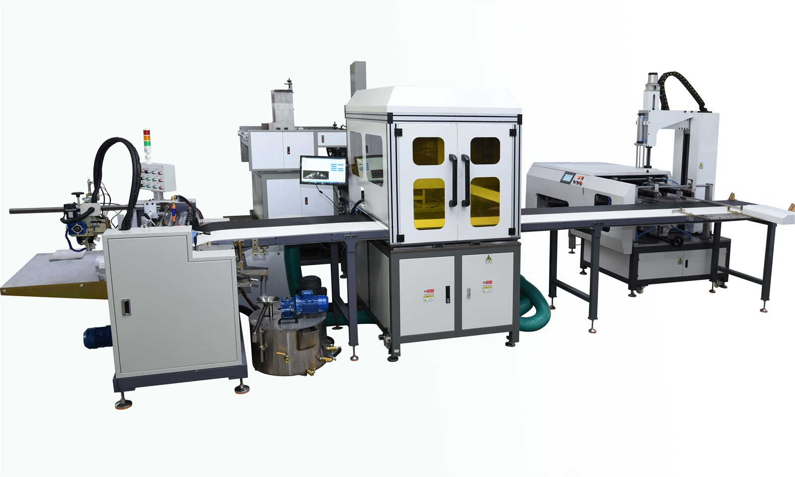 Full-Automatic Cardboard Tray Box Making Line