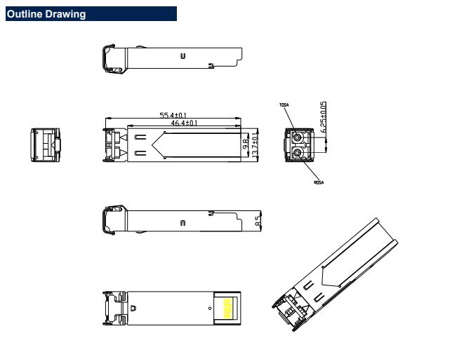 BLSFP125G SFP Optical Transceiver