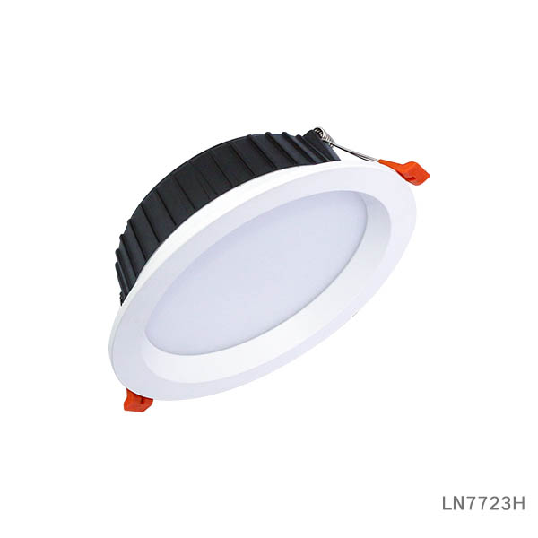 Dimmable 7W/12W/18W Recessed LED Ceiling Downlight for Hotel LN7723H