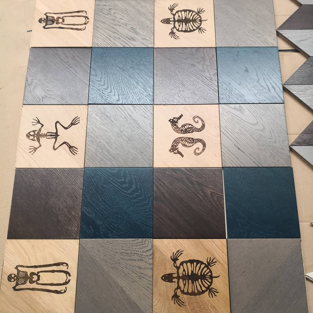 Laser Design Parquet Multilayer