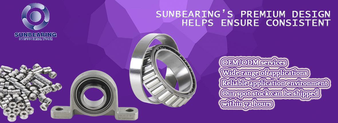 SUNBEARING Tapered Roller Bearing 30304 Silver 205215mm Chrome Steel GCR15
