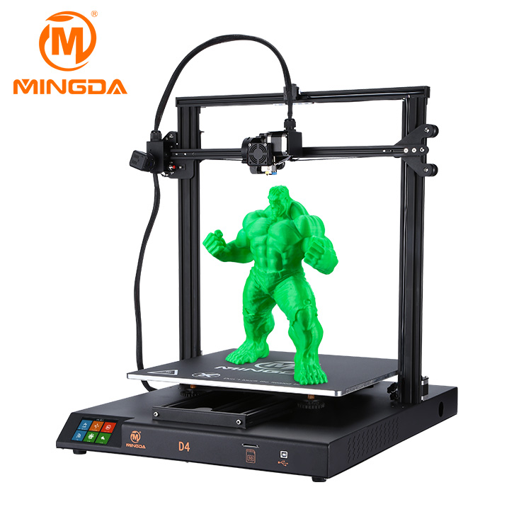 Large D4 FDM DIY 3d Printer Printing Size 420x420x400mm