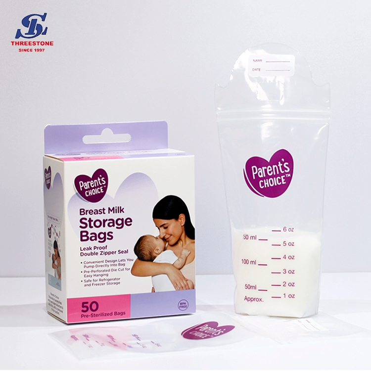 Leak Proof Breast Milk Storage Bag
