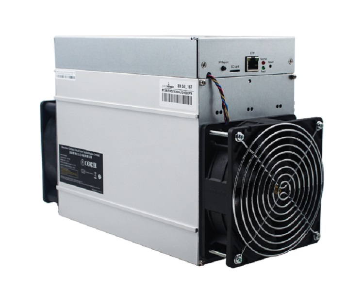 New Antminer S9 SE 16TH/s BTC Miner with Bitmain Power Supply