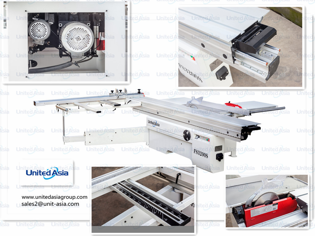 United Asia Industry Sliding Table Saw FS3200S