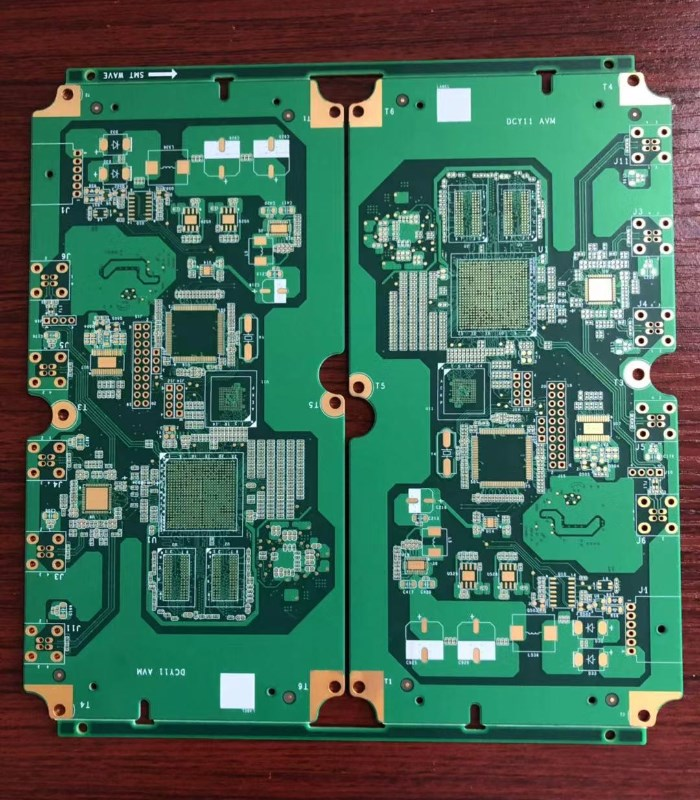 Multilayer Printed Circuit Board 12 Layers Rigid PCB with BGA