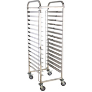 Stainless Steel 15tier GN Trolley Pans Cart In a Low Price Bakerytrolley