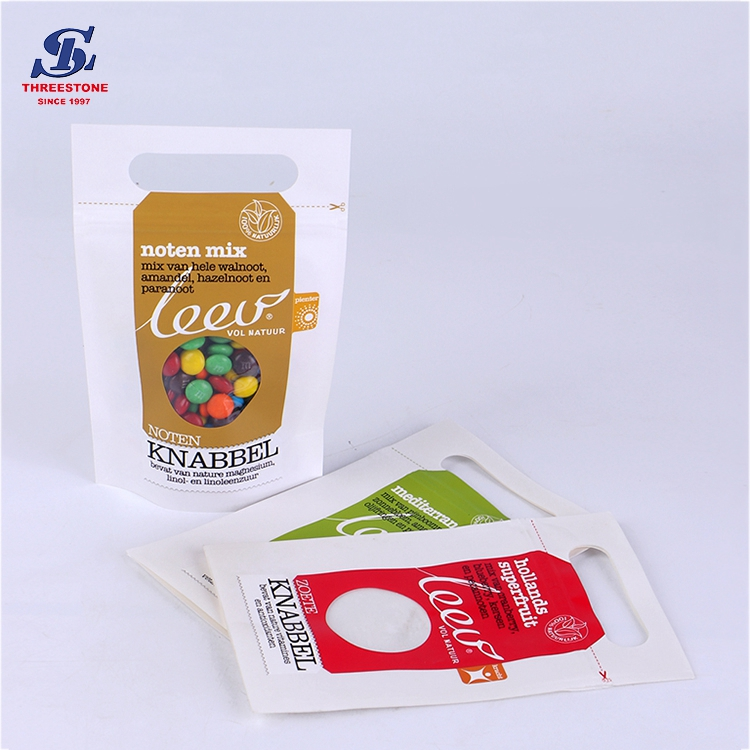 New Coming Kraft Paper Zipper Stand up Coffee Pouch Bag, Stand up Kraft Pouch
