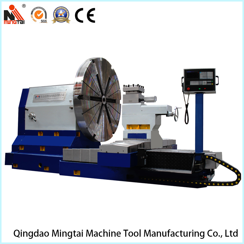 High Quality Facing CNC Lathe Machine for Turning Shipyard Propeller, Mold