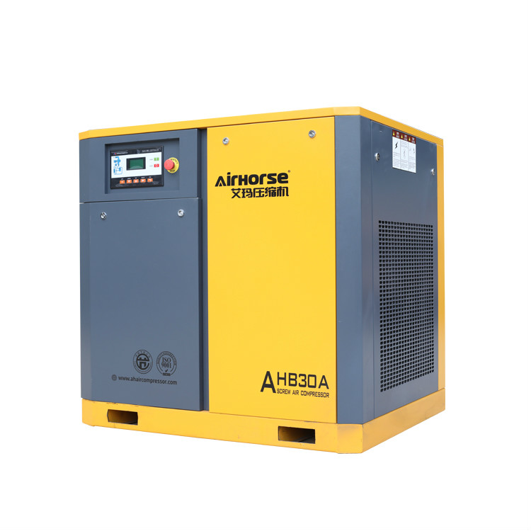 Excellent Performance 22kw Electric Belt Driven Screw Air Compressoror