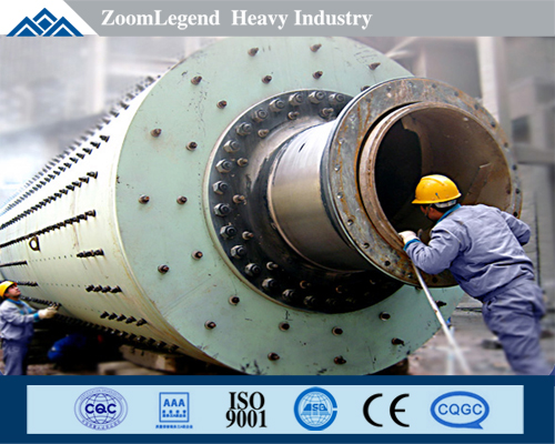 High Efficiency Saving Energy Cement Ball Milling for Sale