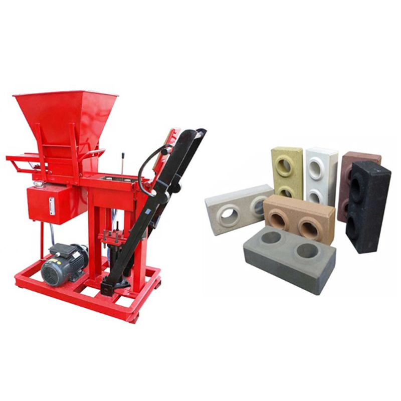 NP 2-25 Block Making Machine..