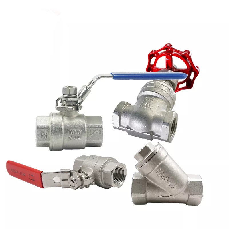 18 4 cf8m 1000 wog 1Pc Type Threaded Female Stainless Steel SS 304 NPT one piece ball valve