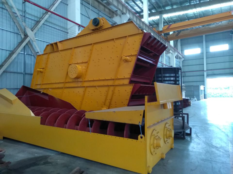 Screw Sand Washing Machine for Crushed Or Nature Sand Cleaning