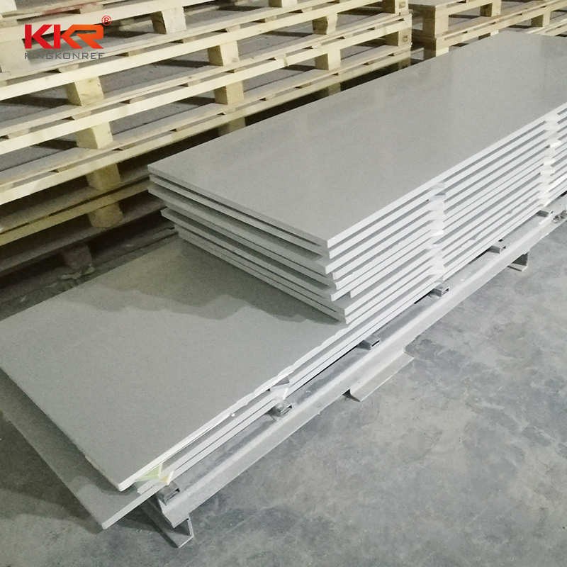 6-30mm Thickness Artificial Stone Free Sample Modified Polyester Acrylic Solid Surface Sheets for Countertop