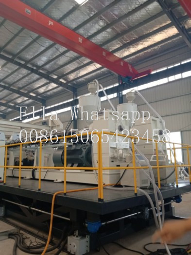 PET Plastic Extrusion Equipment 0.2 - 2mm Thickness 500kg/H Max Capacity