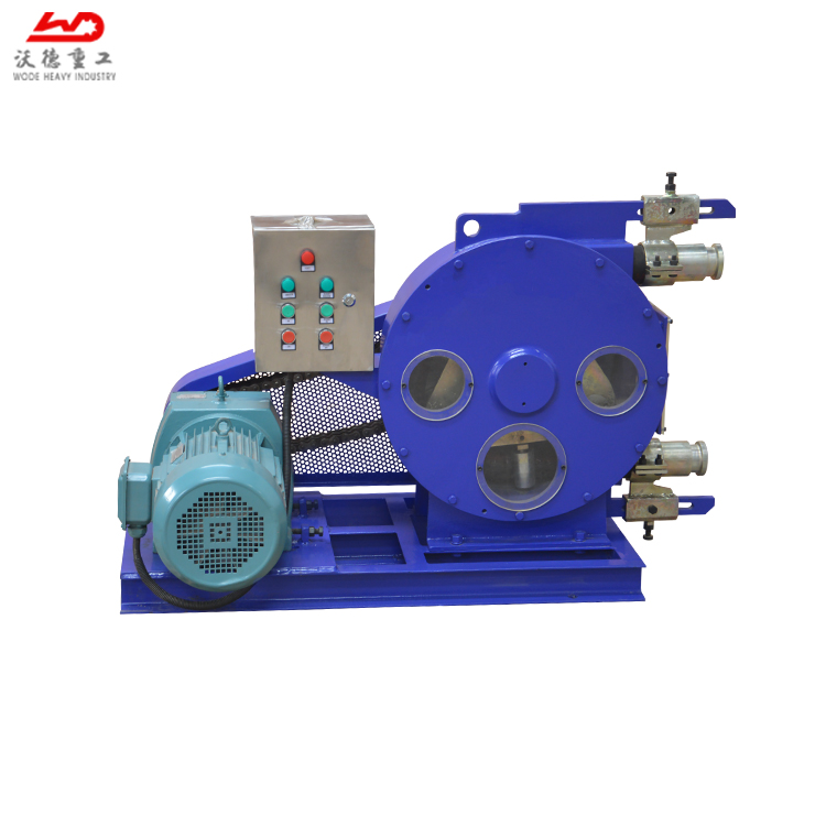 Heavy-Duty Chain Wheel Squeeze Pump Is a Sealessness & Valveless Peristaltic Pump