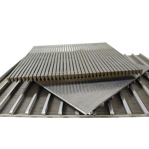 Custom Johnson Wedge Wire Screen Panel for Wastewater Treatment, Coal Mining