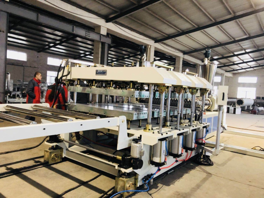 Best Quality WPC Crusted PVC Foam Board Extrusion Line