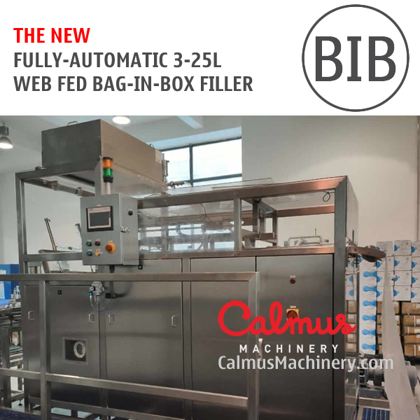 the NEW BIBF500 Fully-Automatic Bag Filler Bag in Box Filling Machine