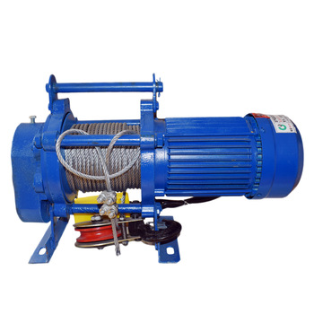 Electric Pulling Winch 380 Volt Electric Winch 2 Ton with 100m Cable