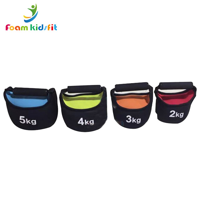 Fitness Equipment Factory Price Weight Lifting Soft Sandbag Kettlebell for Kids Training Body