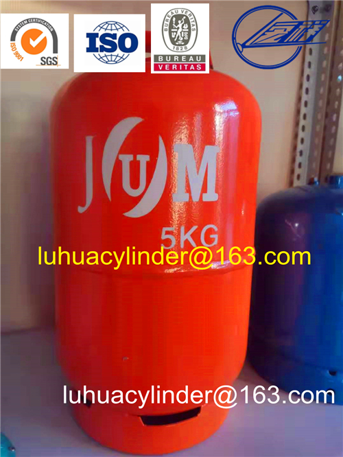 Commerical Restaurant Hotel Household LPG Gas Cylinder for Nigeria
