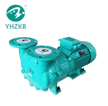 YHZKB Brand Model SK-2D 4kw Flange Connection Single Stage Monoblock Liquid Ring Vacuum Pump